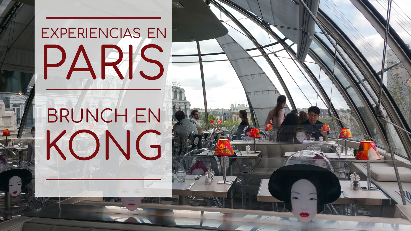 Paris - Brunch en Restaurante Kong